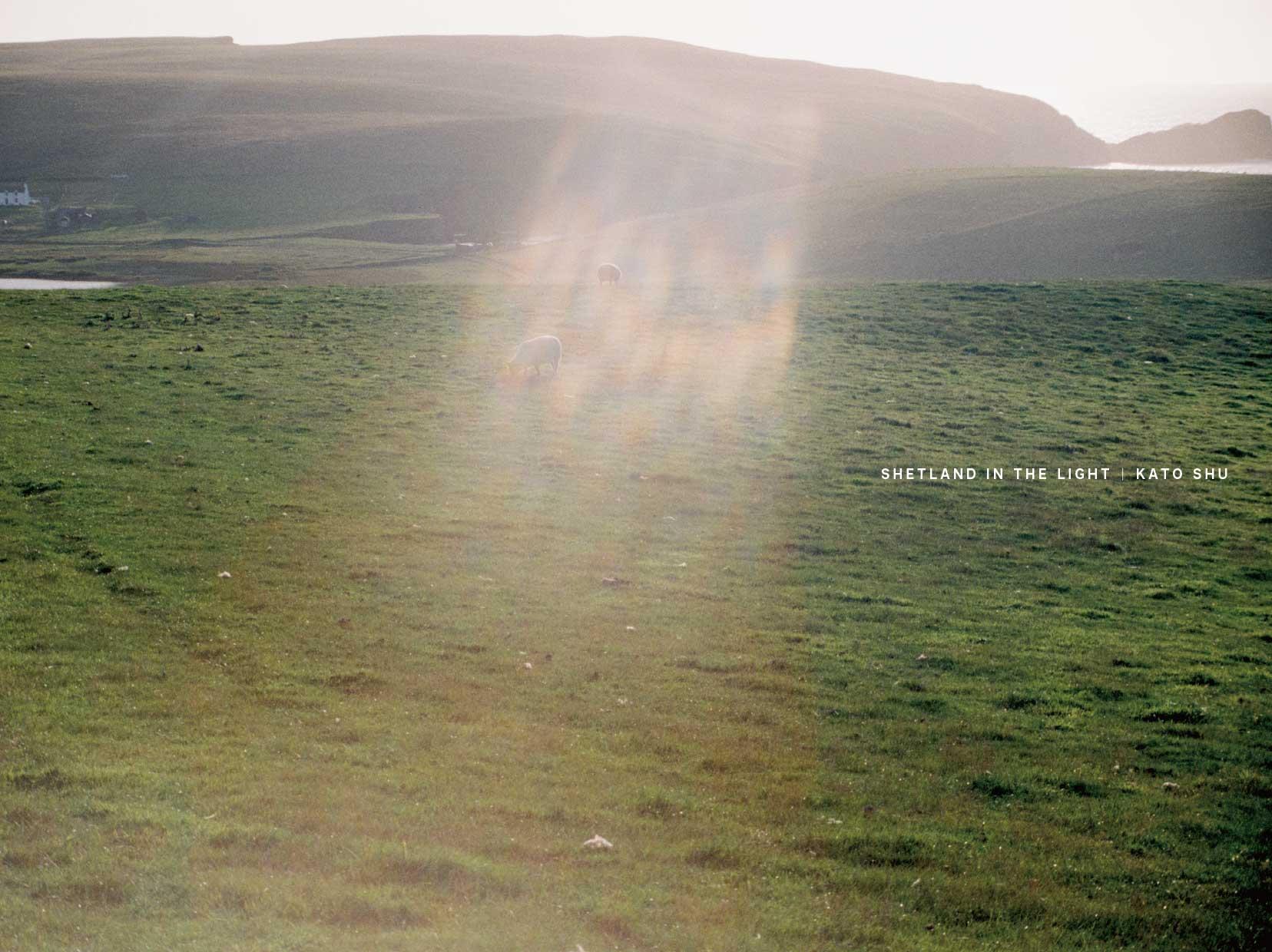 写真集『SHETLAND IN THE LIGHT』新刊書籍の発売が決定、先行販売の受付を開始いたしました